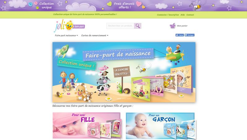 Site internet e-commerce